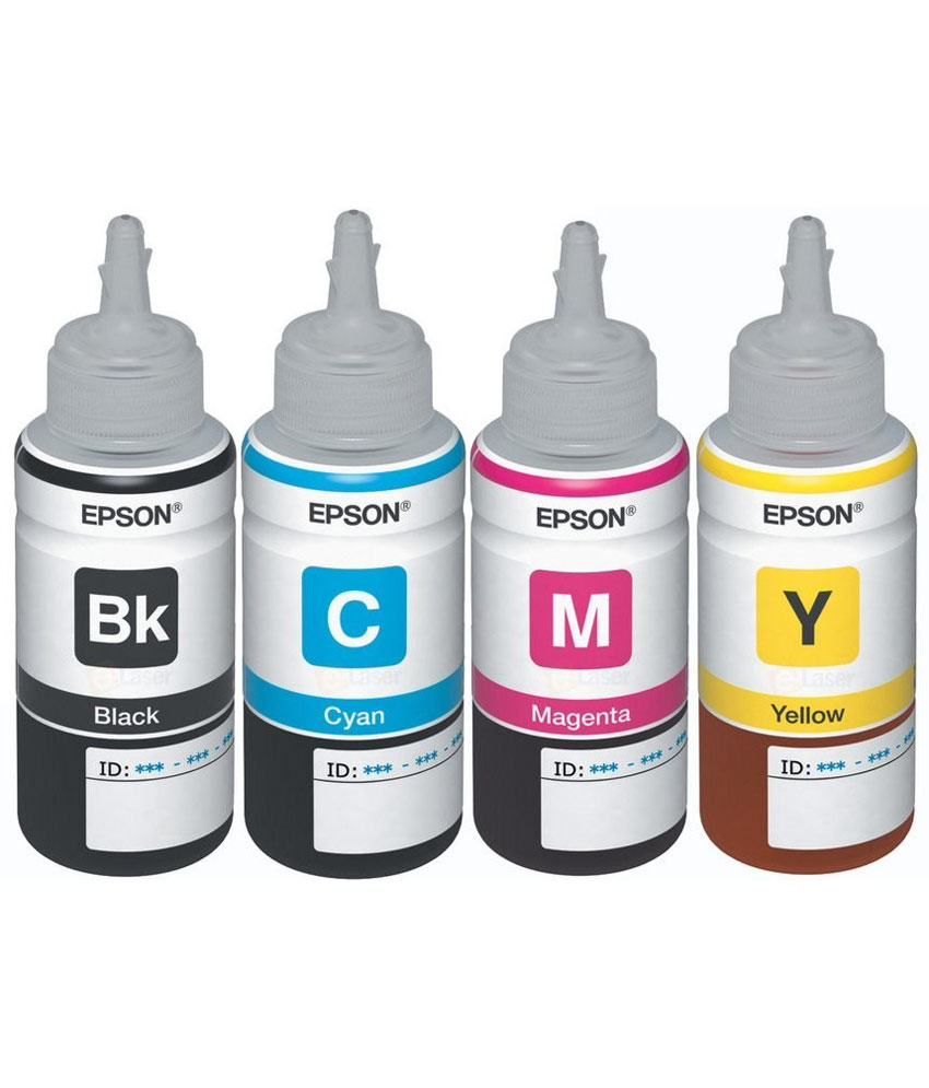 Epson Ink Bottle Set T6641 42 43 44