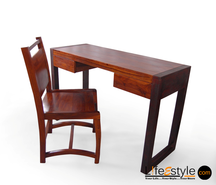 buy online study table with chair pfa 90025