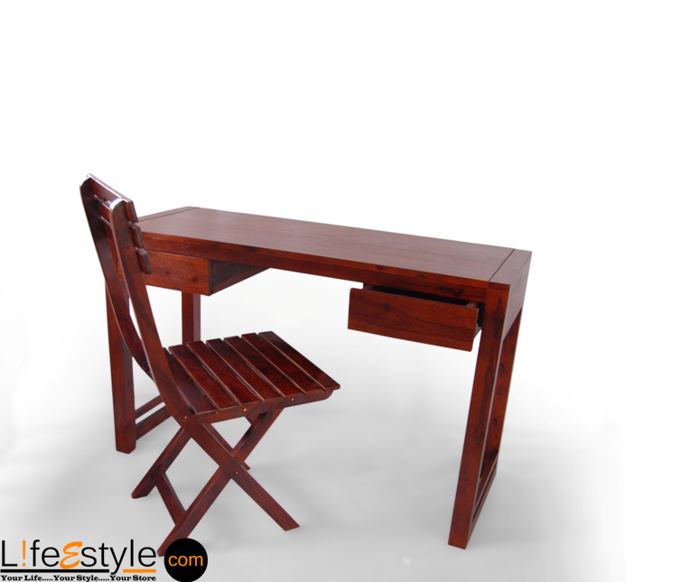 buy online study table with chair pfa 90022