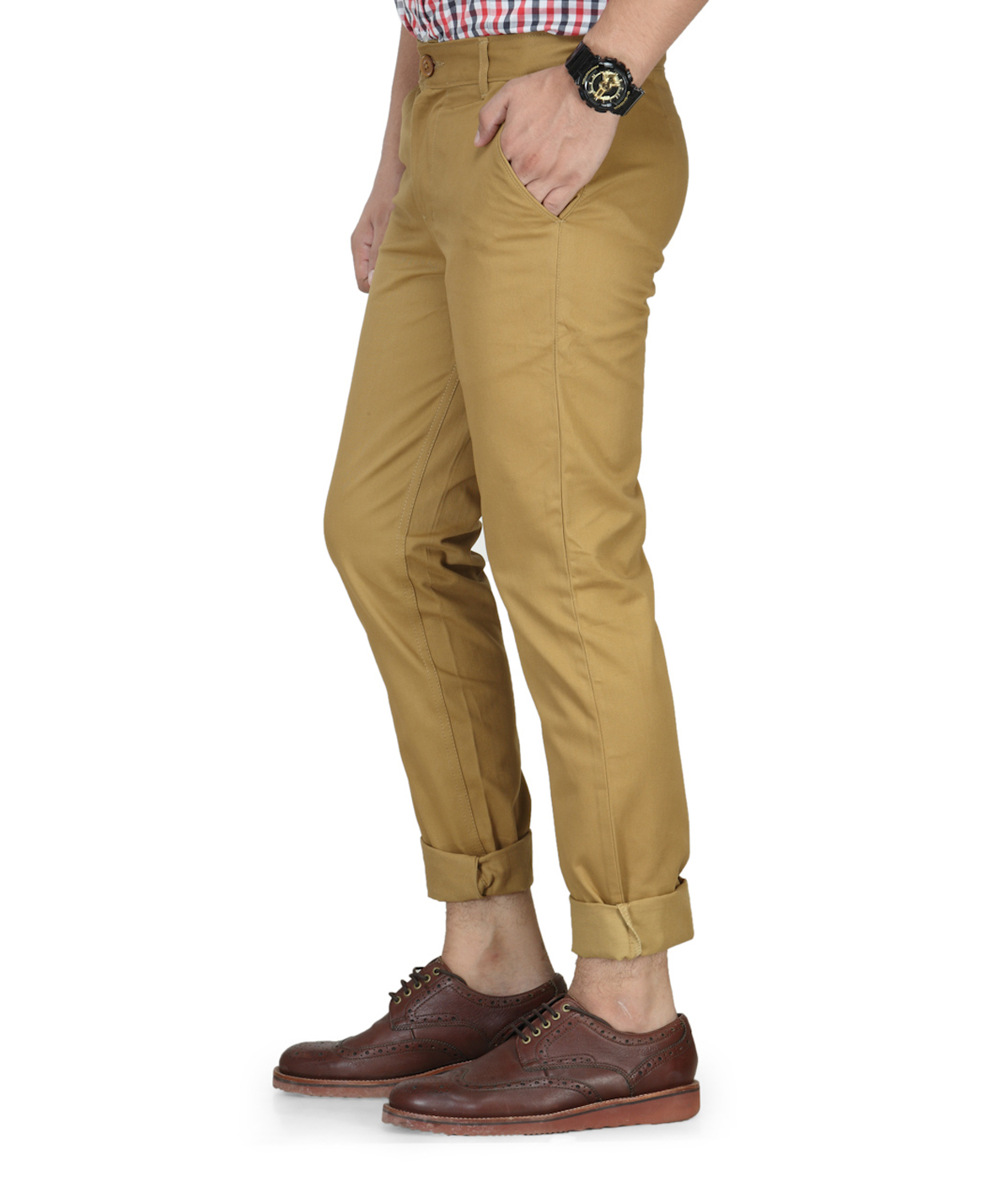Haute couture beige chinos for Haute couture shopping