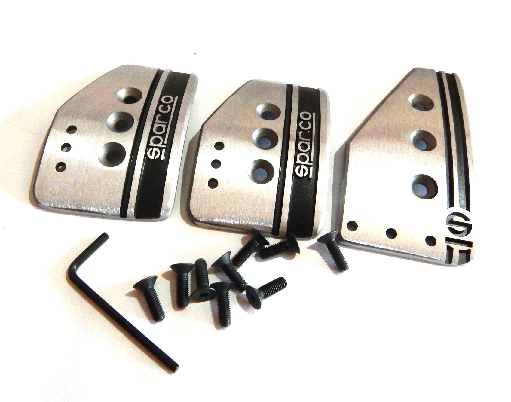 Sparco Racing Pedals Sparco Car Sports Pedal Set