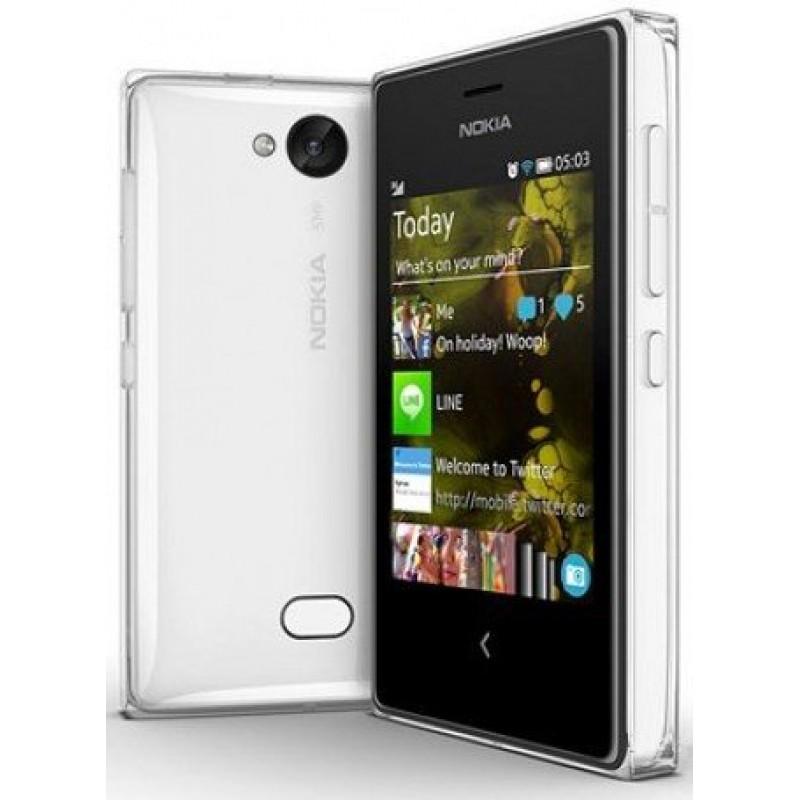 Nokia Asha 502 (White) In India - Shopclues Online  Nokia Asha 502 ...
