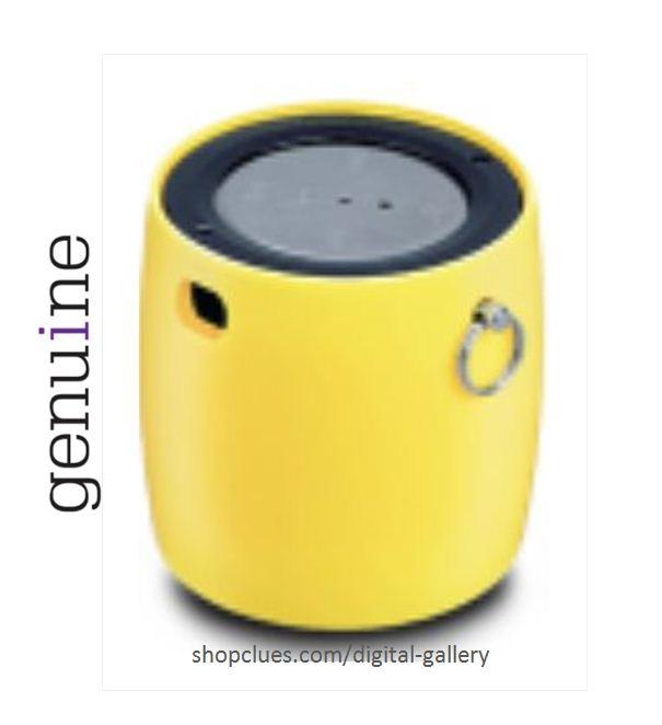 Iball Bluetooth Portable Speaker: Buy IBall LIL BOMB70 Ultra-Portable Bluetooth Speaker With Mic Yellow