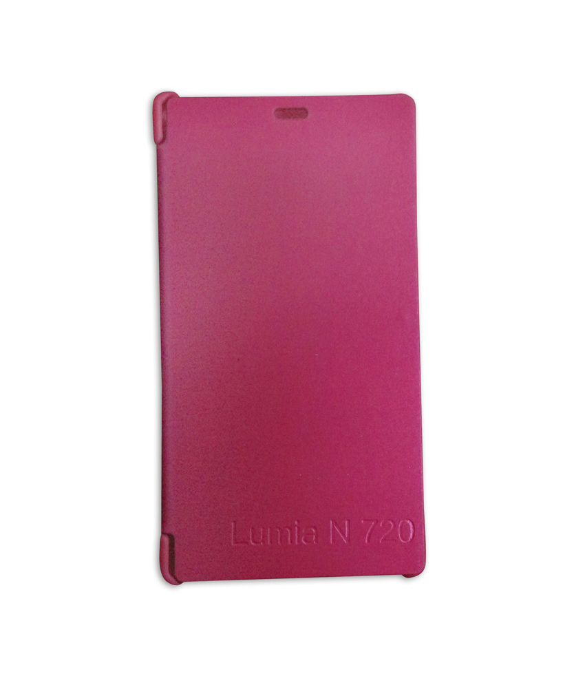 Flip Cover For Nokia Lumia 720   Pink available at ShopClues for Rs.149