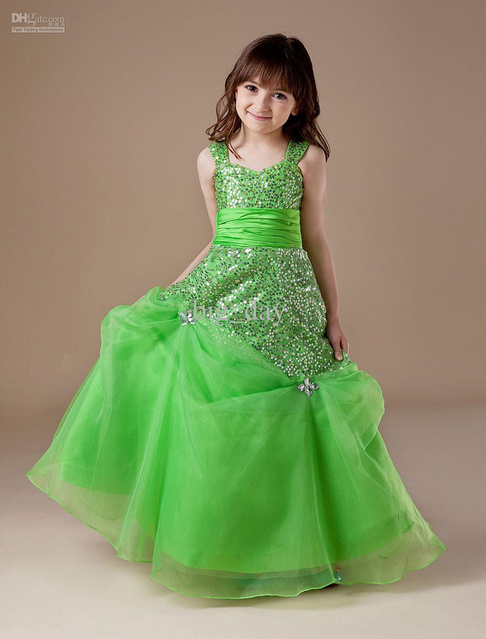 Online Green Gawon Frock Prices - Shopclues India