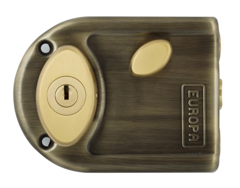 Europa Dimple Key Main Door Lock 8113 Ab