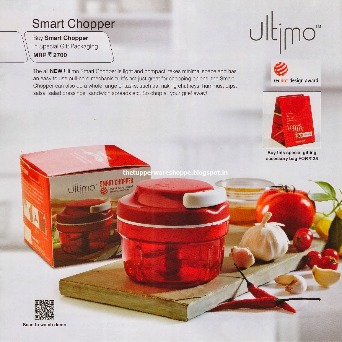 Tupperware 251 Smart Chopper