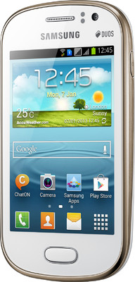 Samsung S6812 - Galaxy Fame (Pearl White)