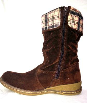 Glamerous And Faishonable Girl'S Boots Brown