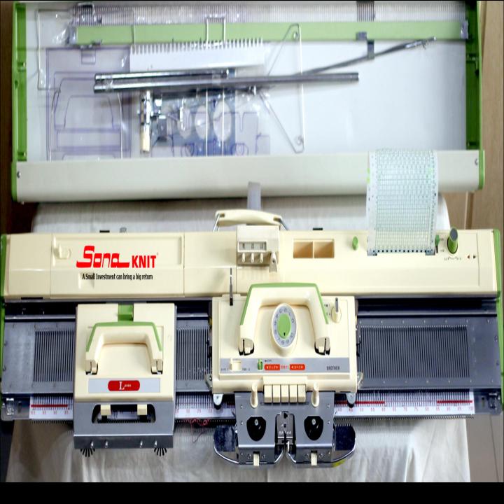 Hand Knitting Machine : Brother hand knitting machine kh