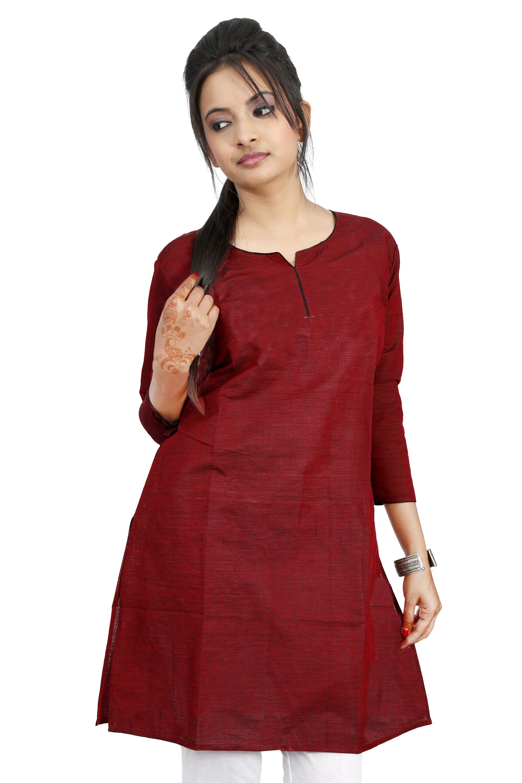 Beautiful And Plain Womens Ladies Girls Kurtis Kurta Top