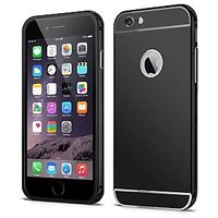 Callmate Aluminum Metal Bumper Case With Removable Back Cover For IPhone6 4.7-BK