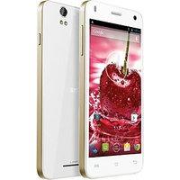 Lava Iris X1 16 GB ROM White, Android V4.4 KitKat 8 MP Camera 1.2 GHz Quad Core