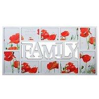 Maggiore White Family 10 aperture frame