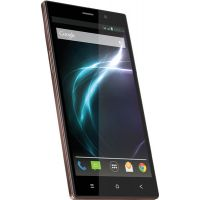 Lava MagnumX604,Brown 1.2GHz Quad Core,Android V4.4(KitKat),6-inch HD IPS Screen - 6958574
