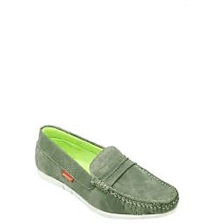 Bachini Yellow Loafer Shoes