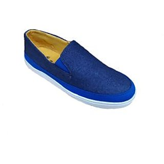 Bachini Navy Blue Loafer Shoes