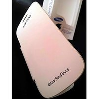 SAMSUNG GALAXY S DUOS S7562 FLIP COVER CASE TRENDS DUOS DIARY CASE WHITE Color