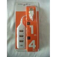 Brand New 4 Port High Speed USB Hub 4 In 1 USB Hub For Desktop, Laptop, Notebook