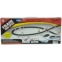 Big Size With Flyovers 370cms Track HIGH Speed Train Toy Set For Kids Children