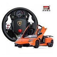 New 1:10 Lamborghini Reveton RC Car With Steering Wheel Gravity Sensing Remote