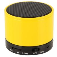 Callmate Mini Bluetooth Speaker S10 - Yellow