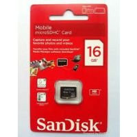 Sandisk 16GB Micro SD Memory Card - Class4