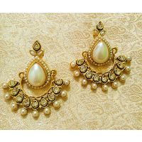 LALSO Designer Ethnic Bollywood Danglers Bridal Wedding Jewellery Earrings - 6987750