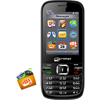 Micromax GC232 GSM+ GSM + CDMA TRIPPLE SIM MOBILE FOR ALL GSM + CDMA NETWORKS