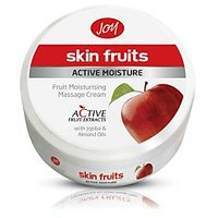 Joy Skin Fruits Active Moisture Fruit Moisturizing Massage Cream 100ml Pack Of 5