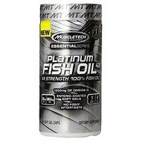 Muscletech Platinum 100 Percent Fish Oil, 100 Softgels