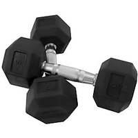 Watson Synthetic Rubber Dumbbells 5 Kg * 2