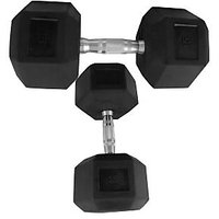 Watson Synthetic Rubber Dumbbells 15 Kg * 2