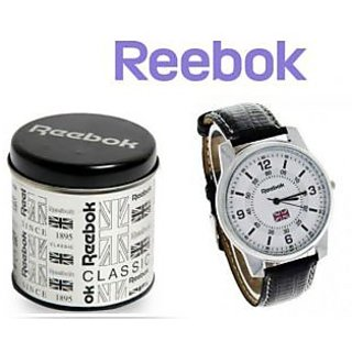 Reebok Round Jagger White Dial Watch