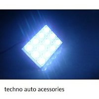 Bright Blue COB Chip LED Car Roof / Dome Light With Adjustable Festoon Adapter