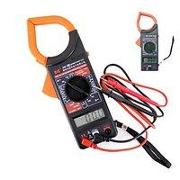 Digital Clamp Meter Ac/dc Multimeter Electronic Tester Meter-H3T3