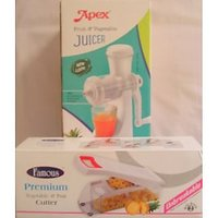 Apex Fruit & Vegetable Juicer With Fruit And Vegetable Cutter