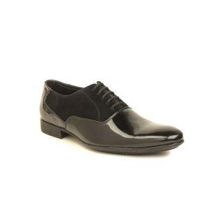 Metrogue Men's Black Lace-up Formal Shoes