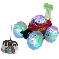 Remote Control Stunt Car With LED Lights For Kids Toys Big