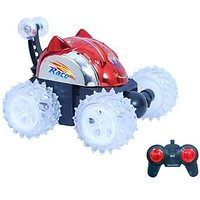 Remote Control Stunt Car With Led Lights For Kids Small