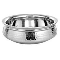 Stainless Steel Serving Handi   With Diamention 15 Cm