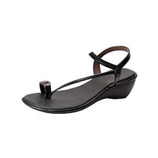 Awssm Fashion Mid Wedge Sandal 2621_Awssm_Black