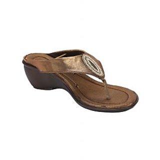 Awssm Fashion Mid Wedge Slipper 5514_Awssm_Brown