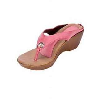 Awssm Fashion Mid Wedge Slipper 6691_Awssm_Pink