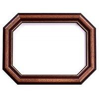 Brown Octagon Wooden Frame