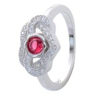 Feel Satiated With AMAN Sterling Silver Ring For Ladies