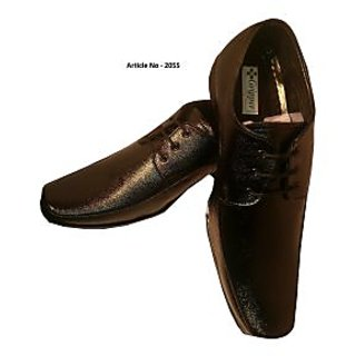 Branded-Leather-Shoes-for-Men-in-Black-Brown-Color Article No-2055