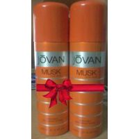 Jovan Musk Deodorant Spray Combo (Pack Of 2)-  For Men 200ml Each