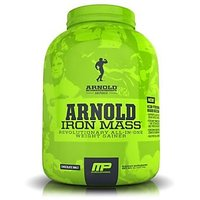 Muscle Pharm Arnold Schwarzenegger Series Iron Mass Weight Gainer, Chocolate