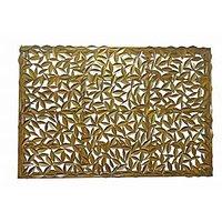 Metalic Wall Art Golden